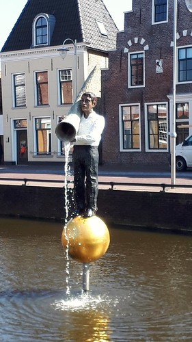 The fountain of Sneek, Friesland