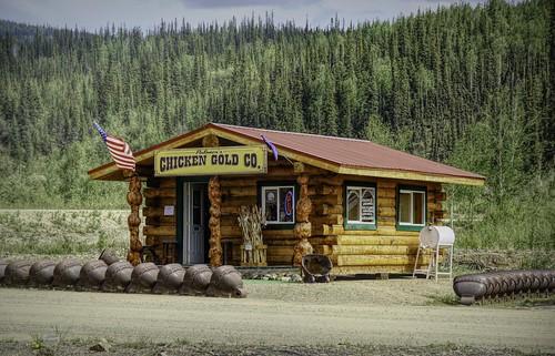 Gold shop in Chicken AK