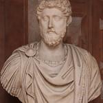 Busto di Marco Aurelio - Loggia del piano nobile - Museo Nazionale Romano di Palazzo Altemps - Roma - https://www.flickr.com/people/94185526@N04/