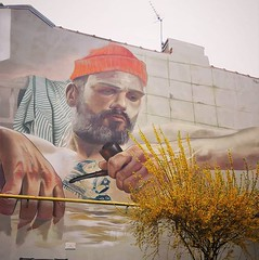 #cheerupsailor it's #springtime🌸 / #streetart by #casemaclaim. . #boulognesurmerstreetart #urbanart #graffitiart #streetartfrance #streetartboulognesurmer #urbanart_daily #graffitiart_daily #streetarteverywhere #streetart_daily #mural #ilov