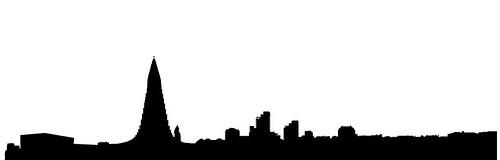 reykjavik-skyline-silhouette-vector-9742400