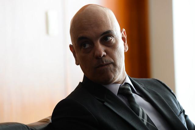 Alexandre de Moraes, ministro que conduz inquérito e que rechaçou posição da PGR - Créditos: ANDRESSA ANHOLETE / AFP
