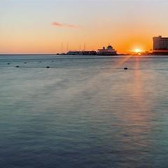 Muted sunrise
