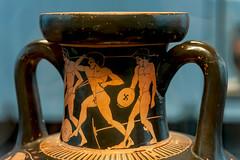Athletes XXXIII: Pentathlon Athletes by the Kleophrades Painter