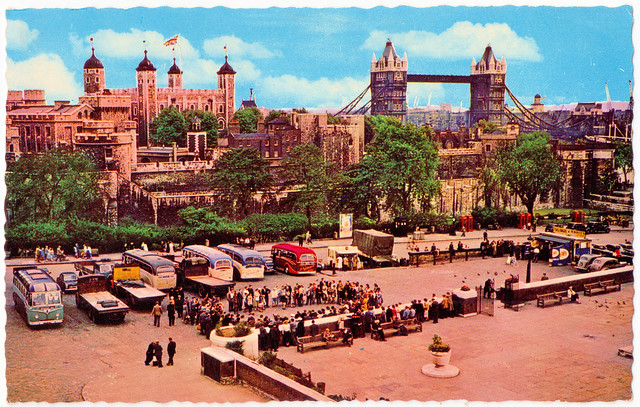 London - The Tower and Tower Bridge