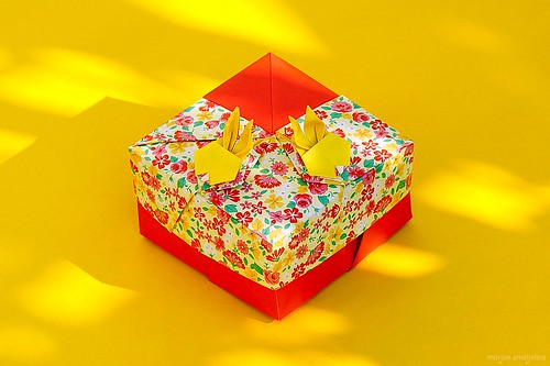 Origami Rabbit Box (Tomoko Fuse)