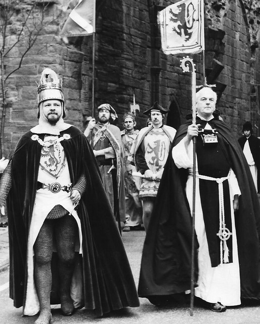 Arbroath Pageant cast 1979
