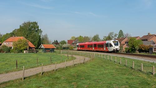 Varsseveld Arriva GTW 373 naar Winterswijk