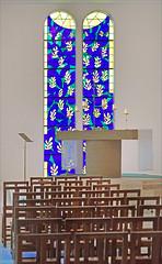 L'autel de la Chapelle Matisse à Vence.