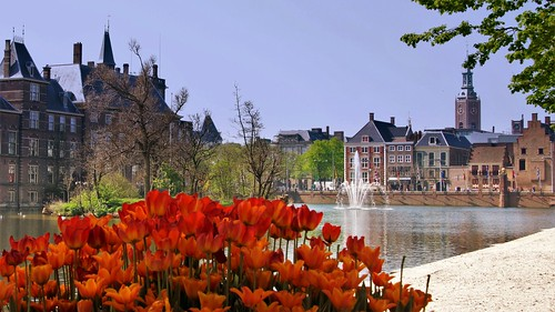 A sunny Easter day & The Hague