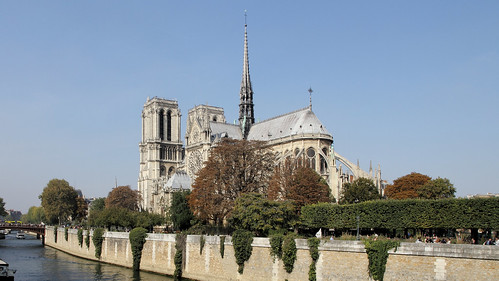 So beautiful was Notre-Dame de Paris !