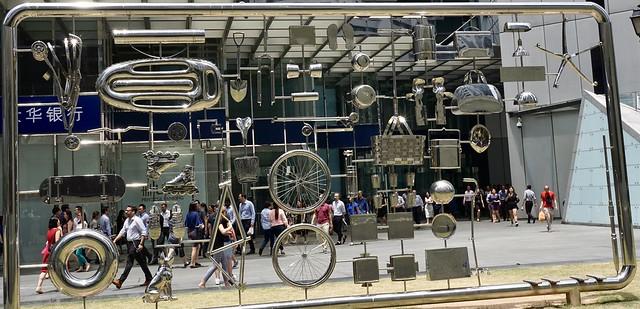 Singapour  Raffles place  quartier des affaires