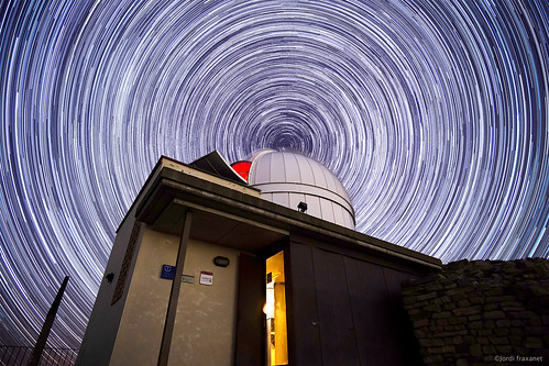 Startrails Observatori Castelltallat