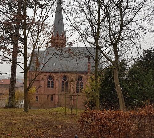 Miltenberg: Johanneskirche (1895-1897). Architekt: Ludwig Hofmann