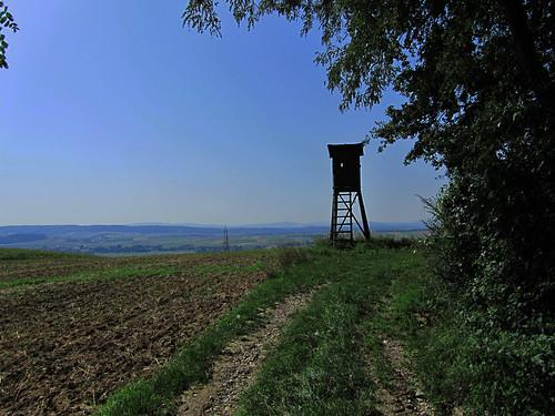 20110822 06 064 Jakobus Weg Hochsitz Feld Weite