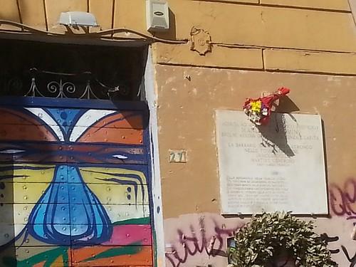 2019 25 aprile San Lorenzo Antifa Piazza Immacolata 29  a