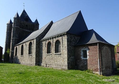 Eglise Saint-Vaast , à Saint-Vaast, Belgique