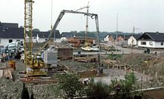 House construction, Langenwinkel,  May 14, 1979 - Photo of Daubensand