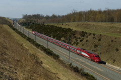 THALYS 4536 Saverne 28.03.2019 - Photo of Danne-et-Quatre-Vents