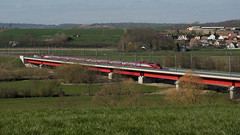 THALYS 4536 Viaduc de la Zorn 28.03.2019 - Photo of Altenheim