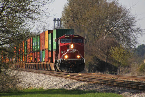 Now EB intermodal 198 drags its feet toward Watertown West