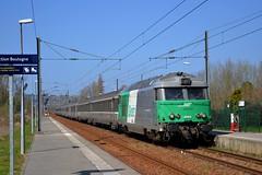 BB67478 + TER à Saint-Etienne au Mont - Photo of Hesdigneul-lès-Boulogne