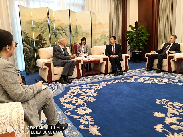WIPO Director General Meets Chinese State Councilor