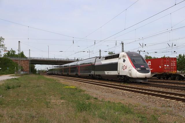 SNCF TGV 4702 310004 InOui, Graben-Neudorf