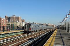 NEW YORK SUBWAYS--6685 arr Allerton Avenue IB