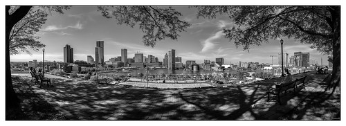 Inner Harbor, Baltimore, MD from Federal Hill Park