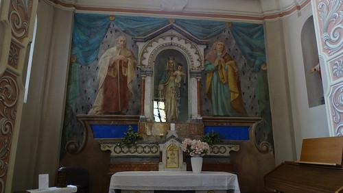 Giumaglio - In der Pfarrkirche Santa Maria Assunta