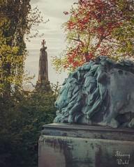Monument allemand en souvenir de la bataille de Wissembourg le 4 août 1870 sur le sommet du Geisberg. - Photo of Schœnenbourg