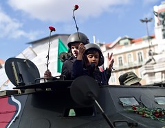 """25 Abril 2019 - Inside a """"Chaimite"""" celebrating the """"Carnation Revolution"""" 45 years"""