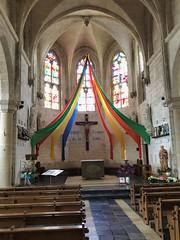 Kirche Saint-Sulpice in Amettes, Frankreich