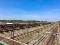 Güterbahnhof von Tergnier, Frankreich - Photo of Mennessis