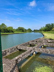 Canal de Saint-Quentin, Picardie, Frankreich - Photo of Remigny