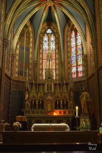 Intérieur abbatiale de Wissembourg