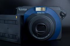 Fujifilm Instax 100 with instant film cartridge