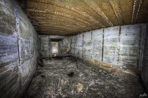 Inside huge WW2 bunker