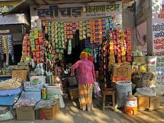 Supermarkt in Indien, convenience store in India