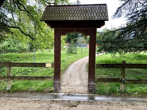 Geneva - 22 Romanian Arch at Park Brot  | Onex, GE