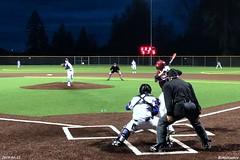 High School Baseball game