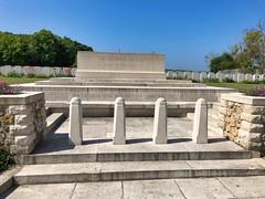 Britischer Soldatenfriedhof in La Ville aux Bois, Frankreich