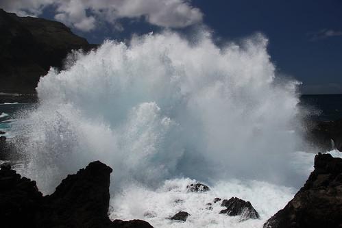 Tenerife splash