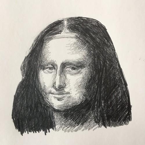 Mona Lisa, d'après Vinci