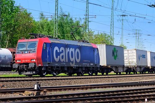 Heading to Switzerland ... an SBB Cargo 482 seen in Koblenz, Germany