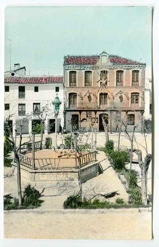 Tarancón : Plaza del Caudillo