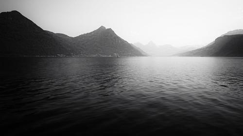 silhouettes @Vierwaldstättersee