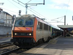 SNCF 26032 at Nevers, 30th April 2008