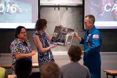 Astronaut Ricky Arnold at University of Maryland (NHQ201905020023)